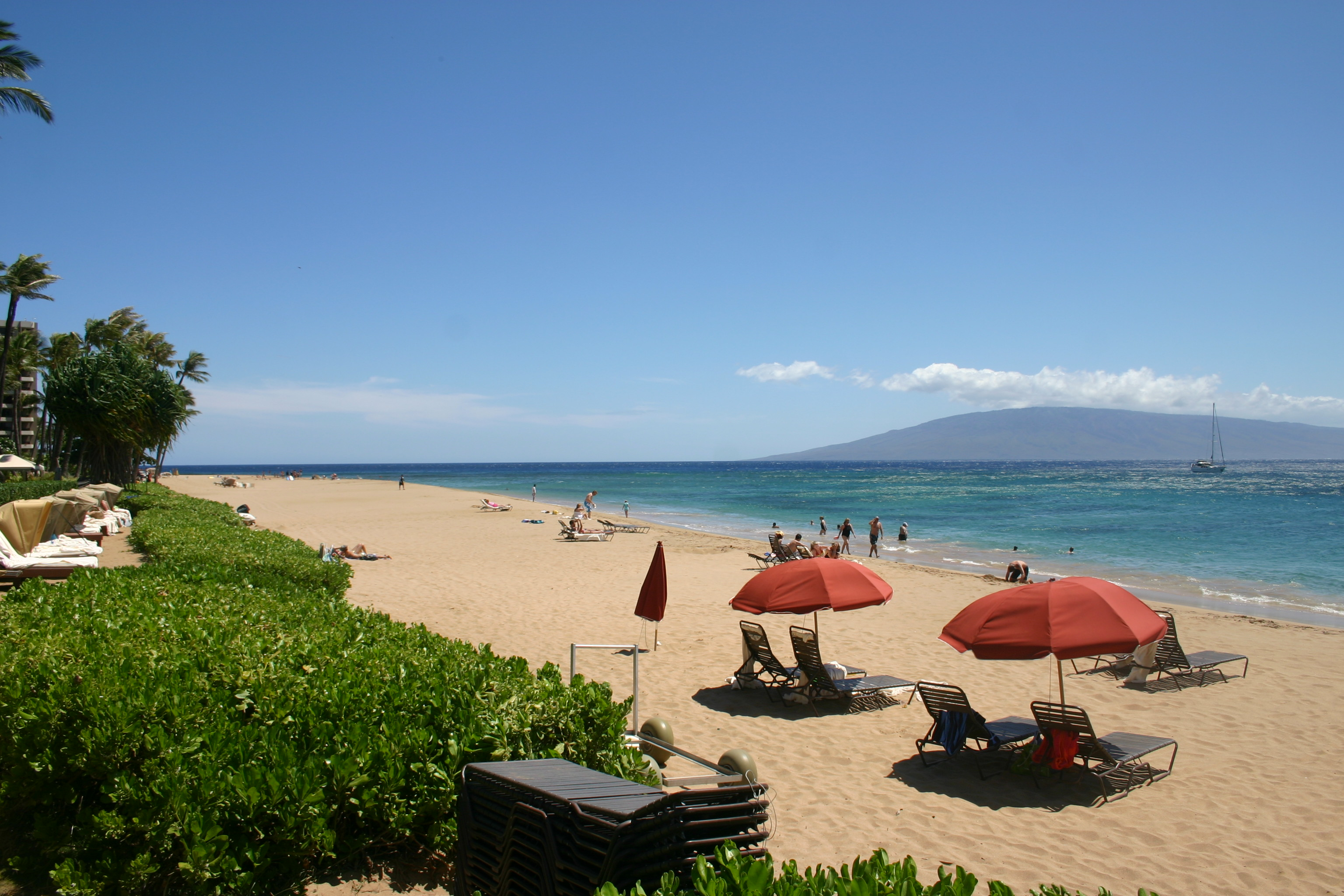 Ka Anapali Beach At The