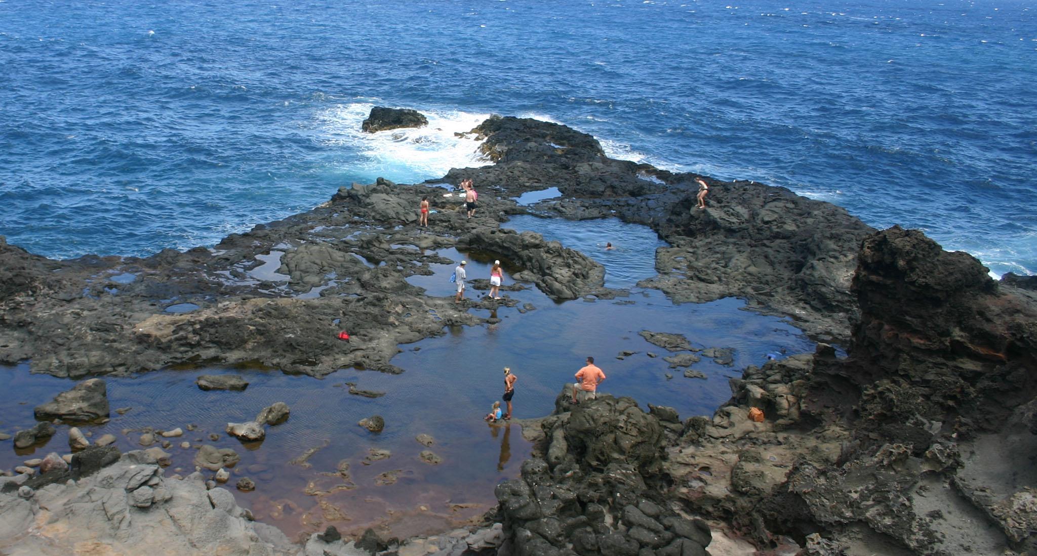 Olivine Pools Maui Guidebook