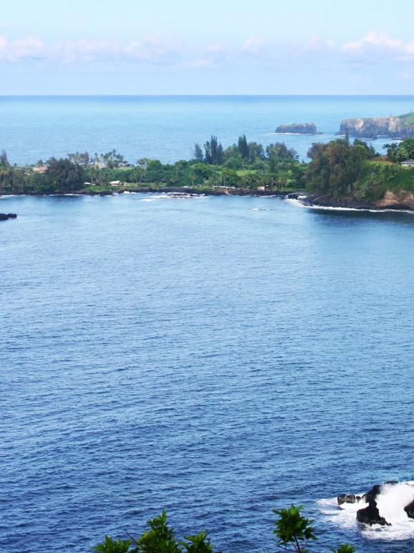Keanae Peninsula from Road to Hana