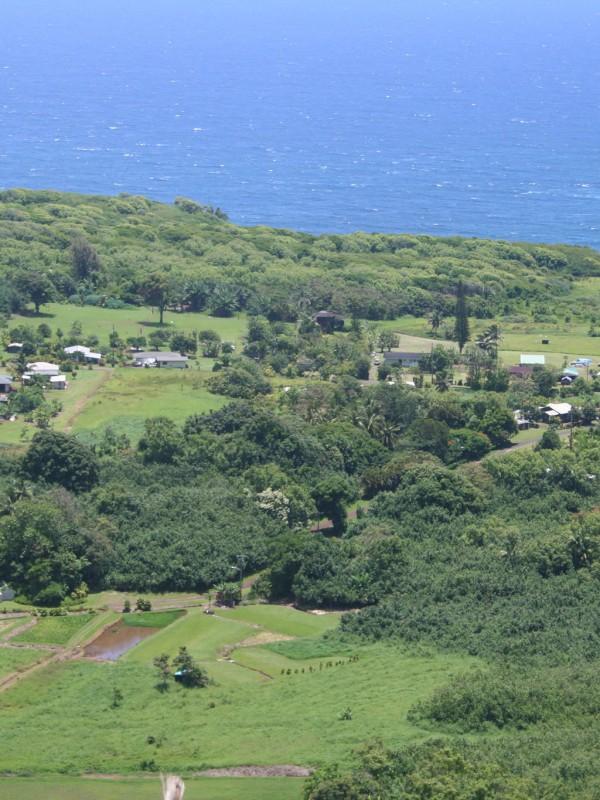Wailua from the Hana Hwy above