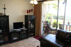 Kihei Park Shore Unit 3 Livingroom