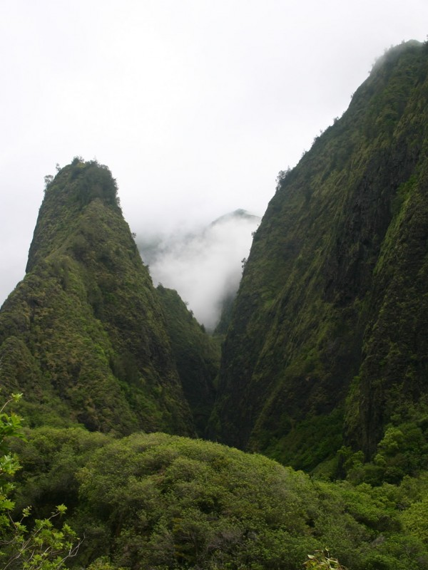 Iao needle in Iao Valley State Park