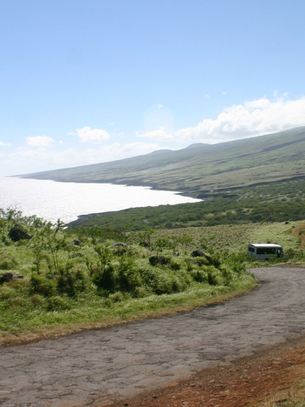 The Back Side of Haleakala road